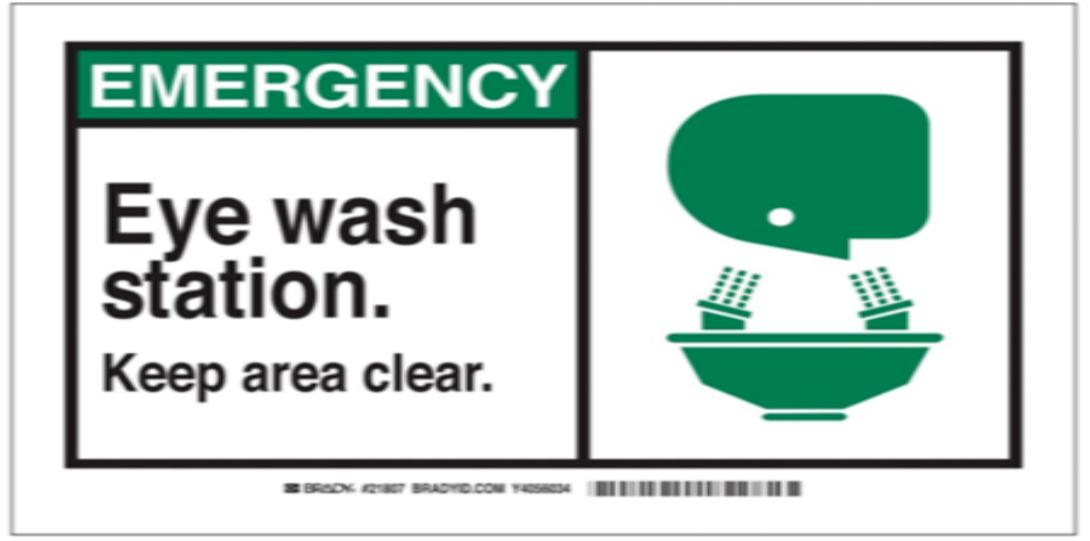 Emergency Shower And Eyewash Safety Program Environmental Health Safety University Of Illinois At Chicago