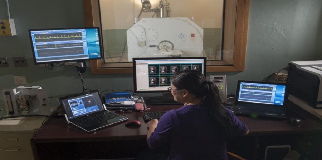 Women with imaging equipment